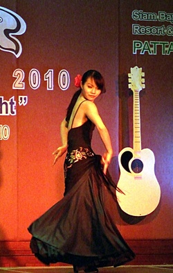 A Flamenco dancer performs to the intoxicating music of southern Spain.