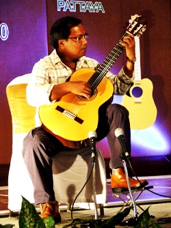 Naruepol Chamchamrat is one of the Kingdom's leading classical guitar teachers.