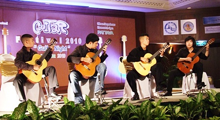 The Thailand Guitar Society students concert show.