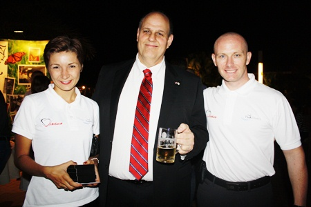 (L to R) Katerina Okisheva, Meny Borenstein, and Jason Yong.