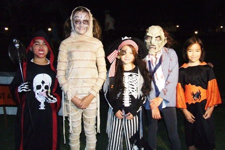 Scary creatures creep out of the night at Horseshoe Point.