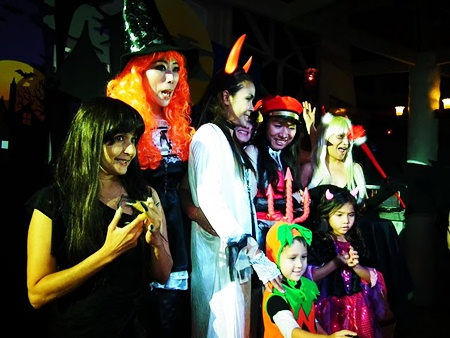 """The best of the """"scariest"""" compete in a Halloween Sexy Star Night contest at Breezeo restaurant."""