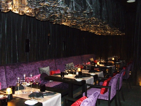 The Flare restaurant - the epitome of elegance.