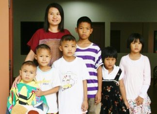 These six young children now have a home.