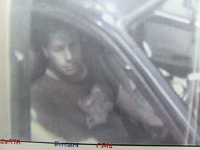 Police released this security camera footage of one of the suspects.