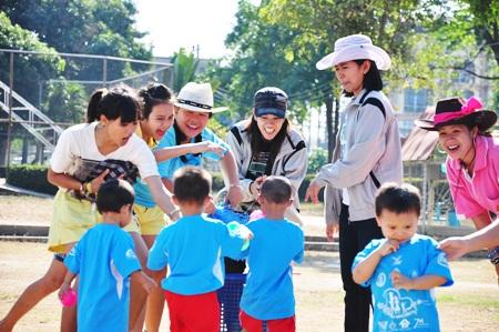 The faces say it all at Pattaya Orphanage.