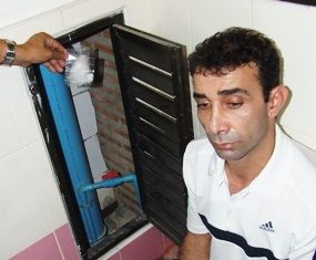 Police have Pouraaoradkhan in cuffs after finding his stash of crystal methamphetamines.