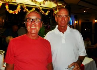 Scramble winners, James Savage & John Murdoch.