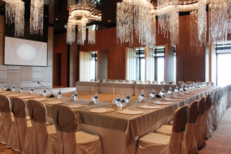 One of Hilton Pattaya's beautifully appointed meeting rooms.