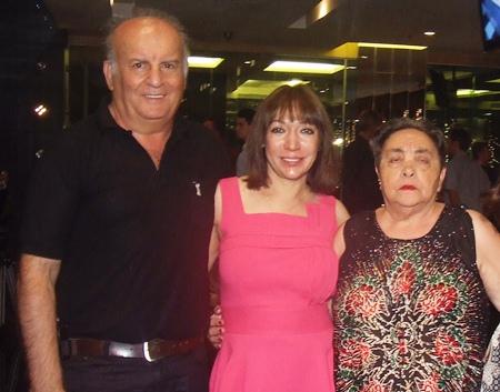Amos Fineman, Shakun Harilela and Ruth Hazan.