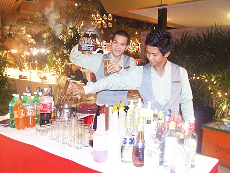 Vast selection of food and plenty of great entertainment was enjoyed by all the guests.