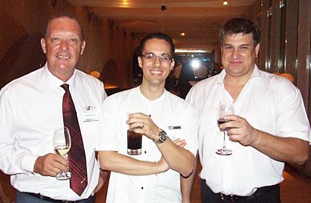 (L to R) Stuart McKenzie, Elwin Kemming and Chris Hagerman.