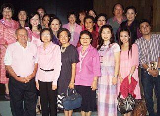 Members of 3 area YWCA groups met Jan. 25 at the Hilton Pattaya.