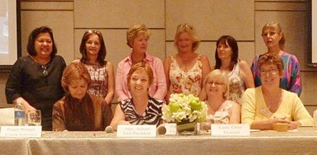 Pattaya International Ladies Club's 2011-2012 committee.