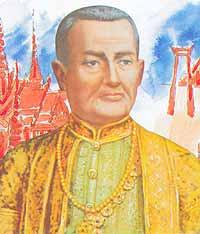 King Buddha Yod Fa Chulalok the Great (Rama I) 1782-1809