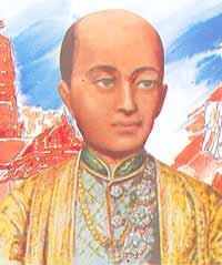 King Buddha Loet La Nabhalai (Rama II) 1809-1824