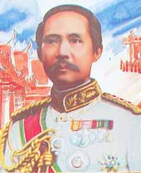 King Chulalongkorn the Great (Rama V) 1868-1910