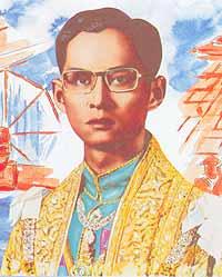 King Bhumibol Adulyadej the Great (Rama IX) 1946 to the present