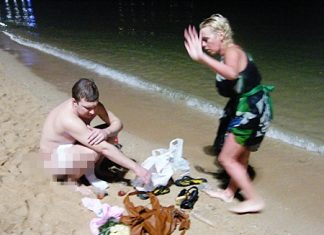 Oops! What do you mean we can't go naked on Pattaya Beach?