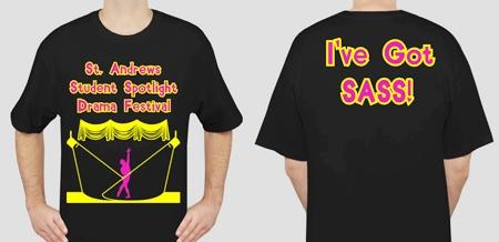 The official 2011 SASS T-shirt design!