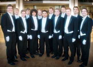 The Whiffenpoofs.