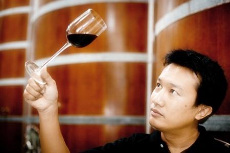 Prayut Piangbunta, Director & Chief Winemaker at Kao Yai Winery.