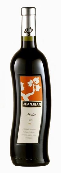 An unusual Jeanjean bottle.