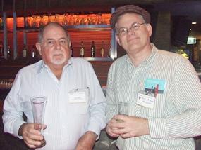 David Bell, AustCham director and Mark Donnal (Meinhardt).