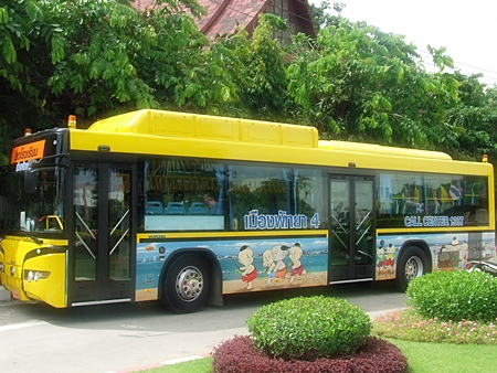 Pattaya this week launches free school bus service for its public schools.