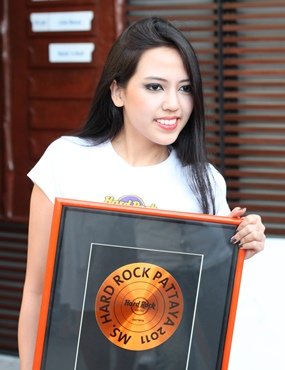 "Chanya Wichianlam was ""Miss Rock Friendly Breeze"", voted for by her fellow contestants."