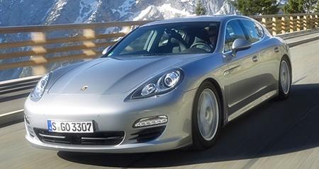 Hybrid Porsche pig