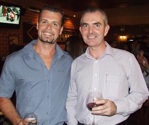 Luke Cook (Carter International) and Craig Muldoon (PFS International) at their coolest self.