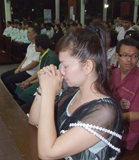 Many people pray for Fr. Lawrence Patin's soul.