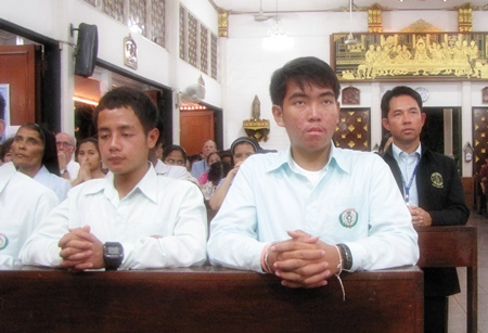 Mayor Itthiphol Kunplome was amongst a crowd of officials, state and private representatives, and local politicians at the event.