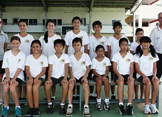 Garden International School students participate in the annual FOBISSEA Games.