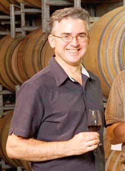 Wine-maker Dr. Phil Spillman.
