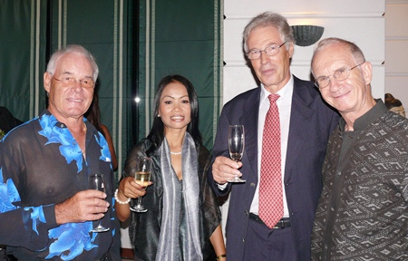 These wine dinners always bring out Pattaya's luminaries.