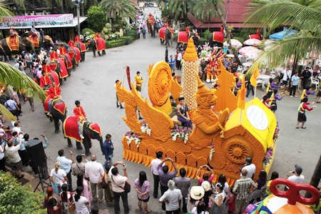 Nong Nooch always puts on an elaborate celebration, and this year is no exception.