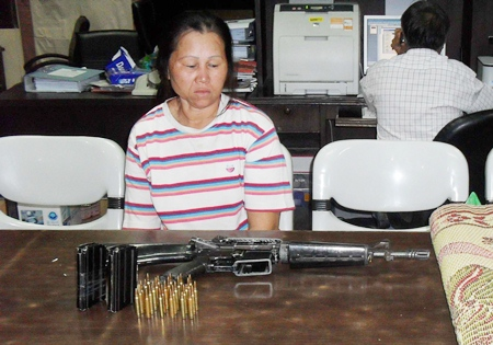 Parkong Kamdee has been charged with illegal weapons possession and carrying a loaded gun into a public place.