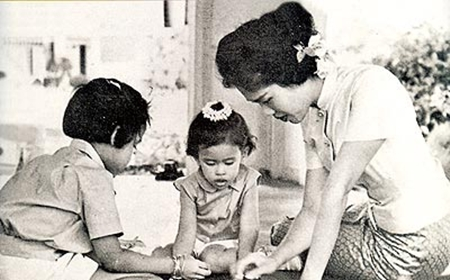 Her Majesty has always been very devoted to Her children.