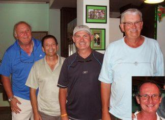 Sat winners: Liam Horgan, Richard Moore, Rob Herald, Gary Hookey, and Ted Senior (inset).
