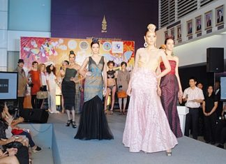 The Pattaya International Fashion Week takes place from Sept. 9-11.