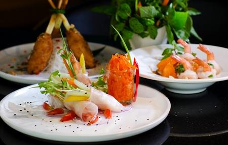 Sumptuous Vietnamese menus at dusitD2 baraquda Pattaya.