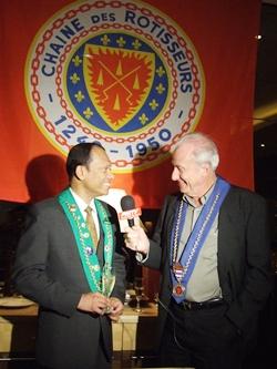 Dr. Iain Corness interviews Bailli Ranjith Chandrasiri for PMTV.