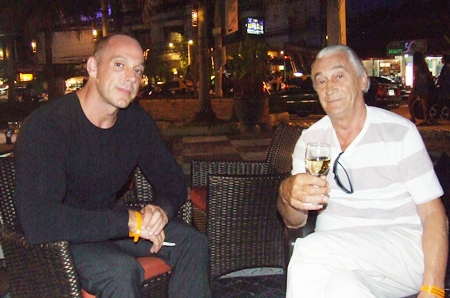 Jan Bert Nuyten, MD Pattaya Prestige Properties chats with the Dutch Painter & Artist Martin H.A.P. Van Bree.