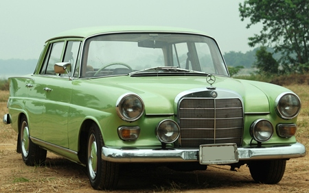 Classic Mercedes Fintail