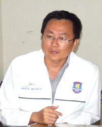 Sinchai Wattanasartsathorn speaks about the gallant rescue efforts of his volunteers.