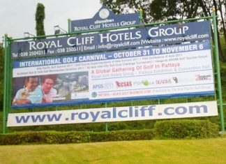 The Asia Pacific Golf Summit takes place at the Royal Cliff Beach Resort from October 31-November 6.
