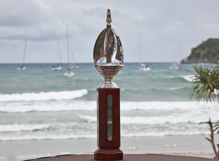 The Phuket King's Cup Regatta trophy – a replica is given to the winner of each class.