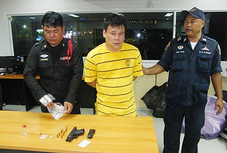 Bangkok cabbie Wiwat Wongsankh confessed that the gun was his, and that he was high, but the drugs weren't his.